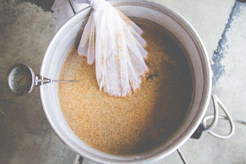 homebrewing pot