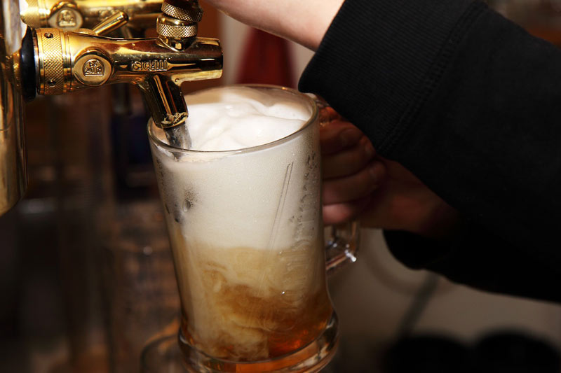 Pouring yourself a beer from your own kegerator is one of the best things ever
