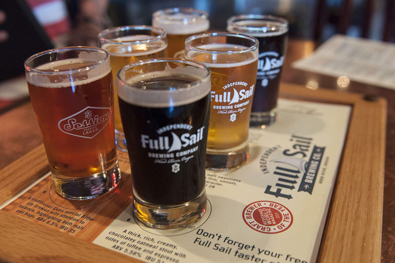 Full Sail Brewing Co, Portland, Oregon