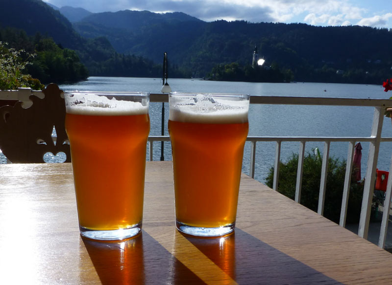 Beer is a major pastime in Slovenia