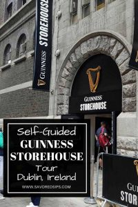 Take a self-guided tour around the Guinness Storehouse in Dublin to see how Guinness is made and taste some too!