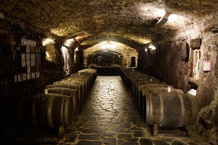 The wine cellars of Eguren Ugarte