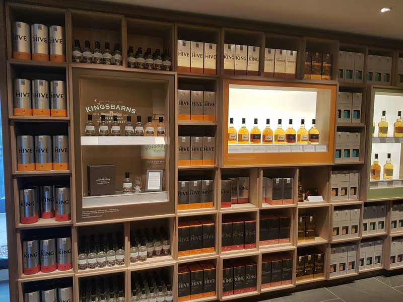 Whisky from Wemyss family are currently being sold at the distillery