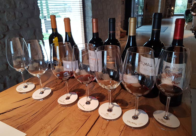 Marques de Murrieta wine tasting