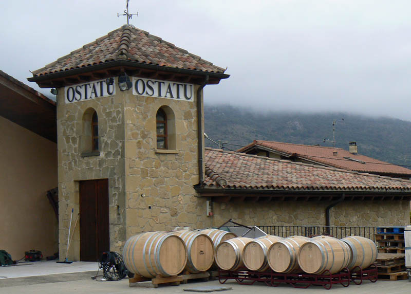 Bodega Ostatu, a family-owned winery