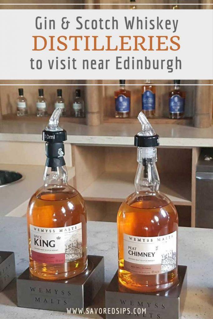 Gin & Whisky Distilleries to visit near Edinburgh