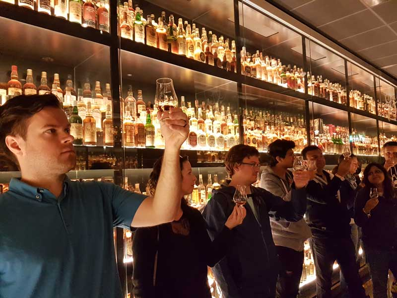Scotch Whisky Experience in Edinburgh (photo by Savored Journeys)