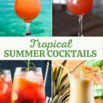 Tropical Summer Cocktail Recipes