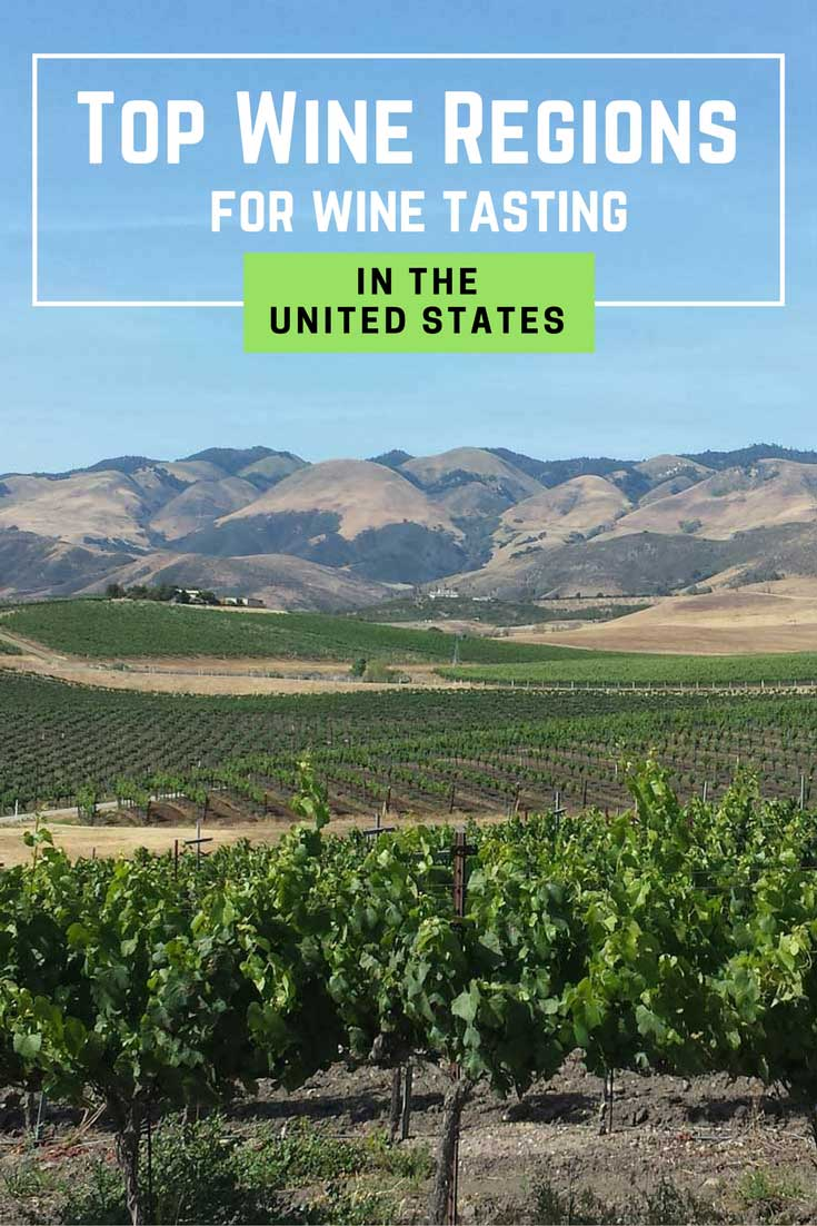 Top Wine Regions in the United States for wine tasting