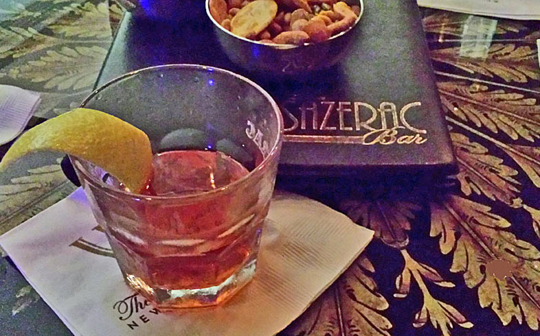 New Orleans must-try cocktail, the Sazarac