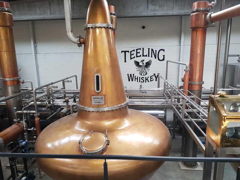 Teeling Distillery's stills