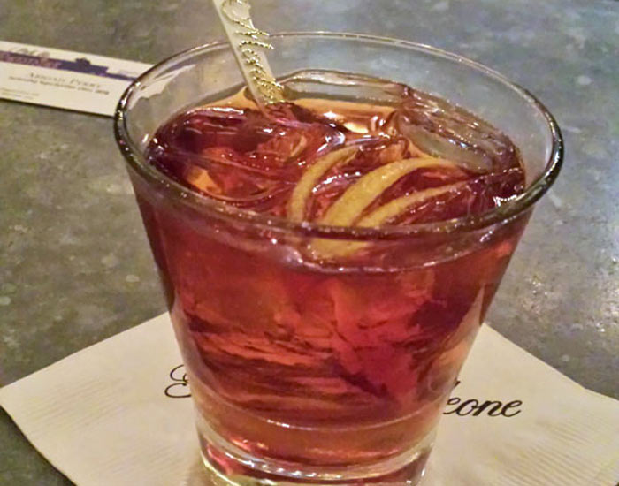 Vieux Carre from the Carousel Bar in New Orleans