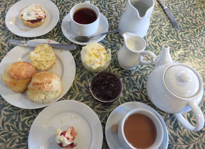 Cream Tea is a much-loved tradition in England