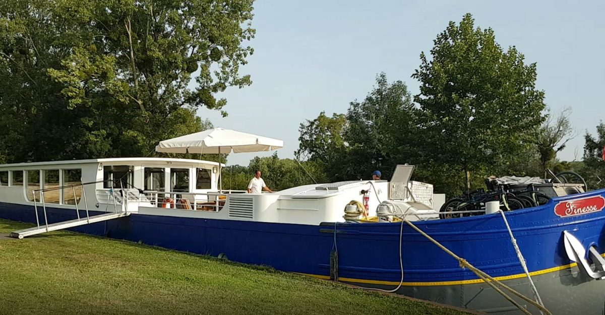 A barge cruise is a fantastic way to experience the Burgundy countryside and its wines