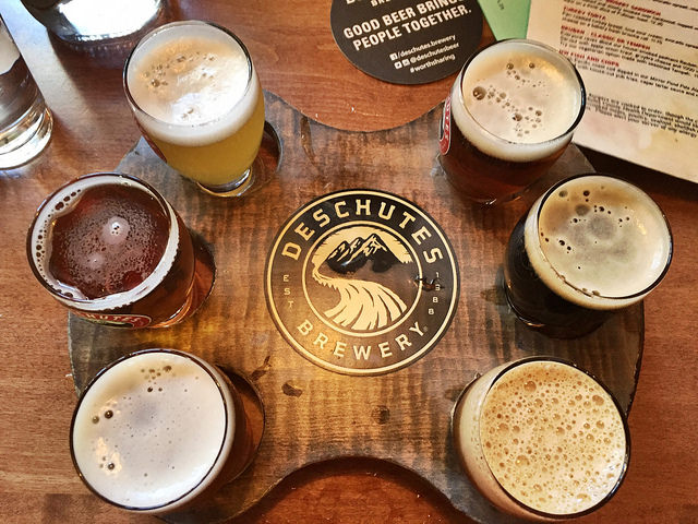 Deschutes Brewery in Bend, Oregon