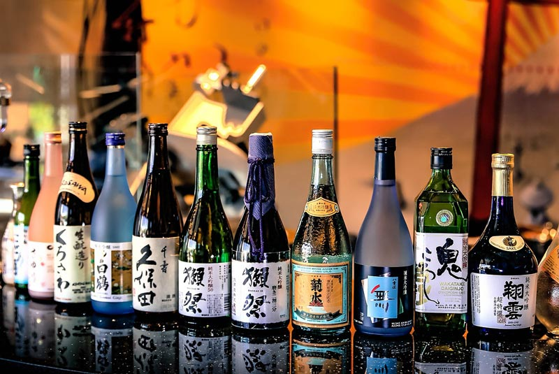Learn all about the different types of sake