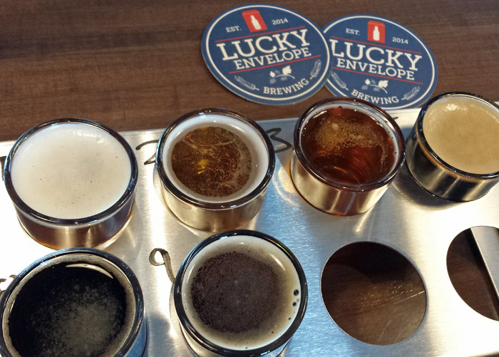 One of our favorite microbreweries in Seattle is Lucky Envelope