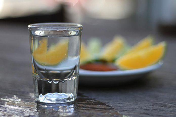 Mezcal agave liquor