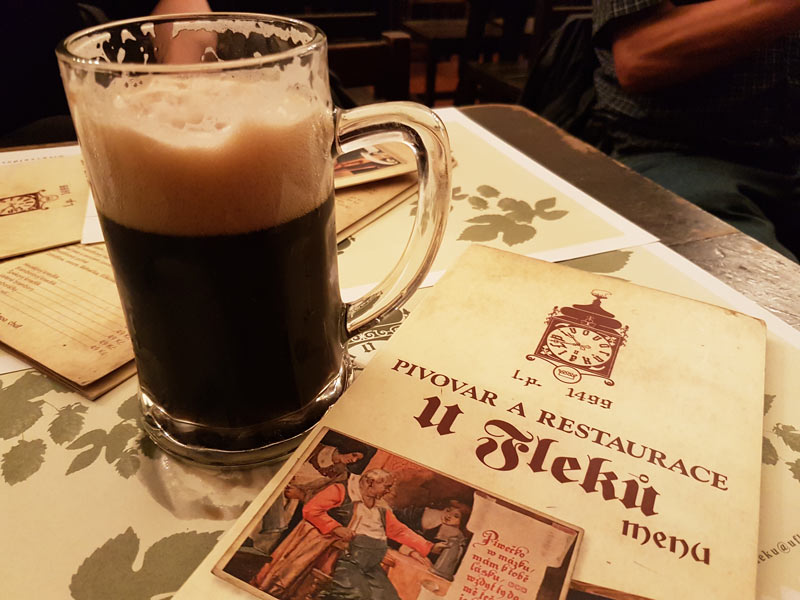 U Fleku's dark lager