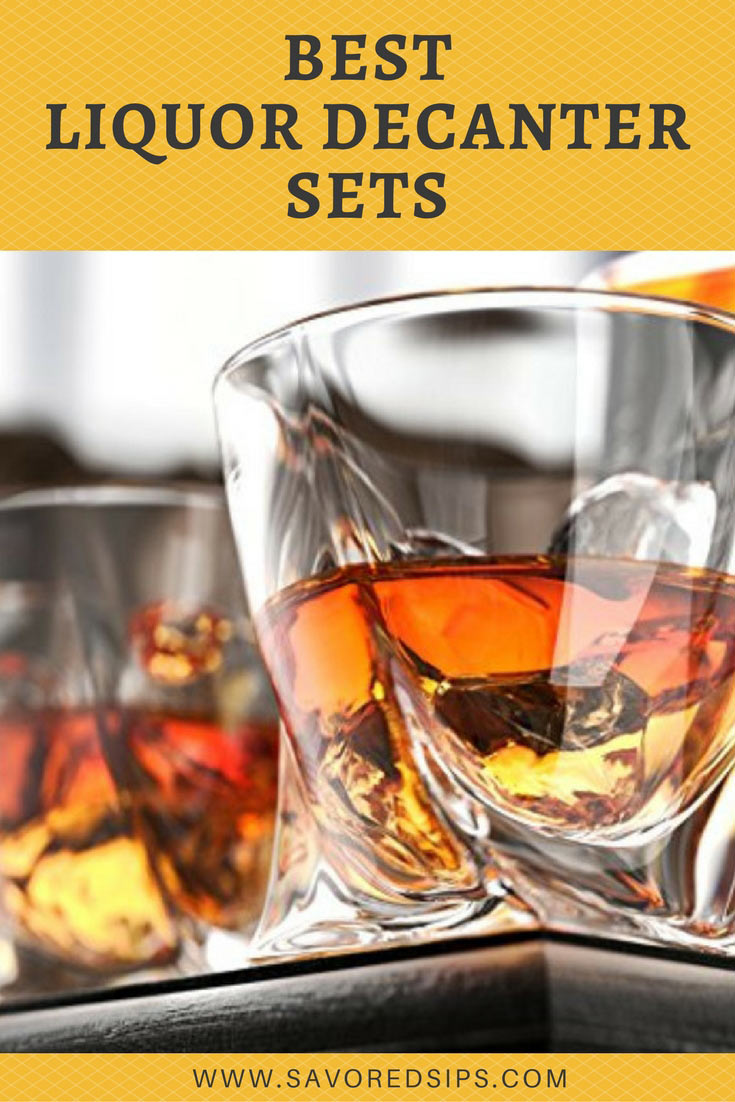 Find the best liquor decanters sets for yourself or as a gift