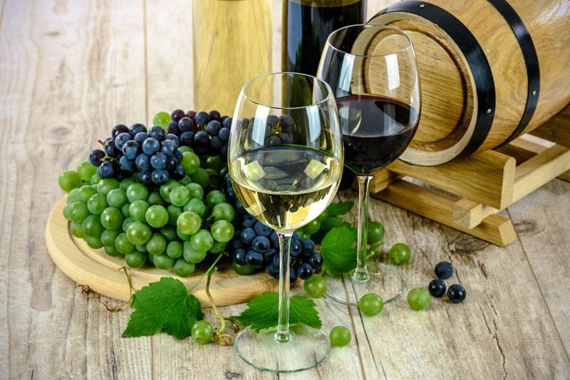 Australian Shiraz and Australian Chardonnay