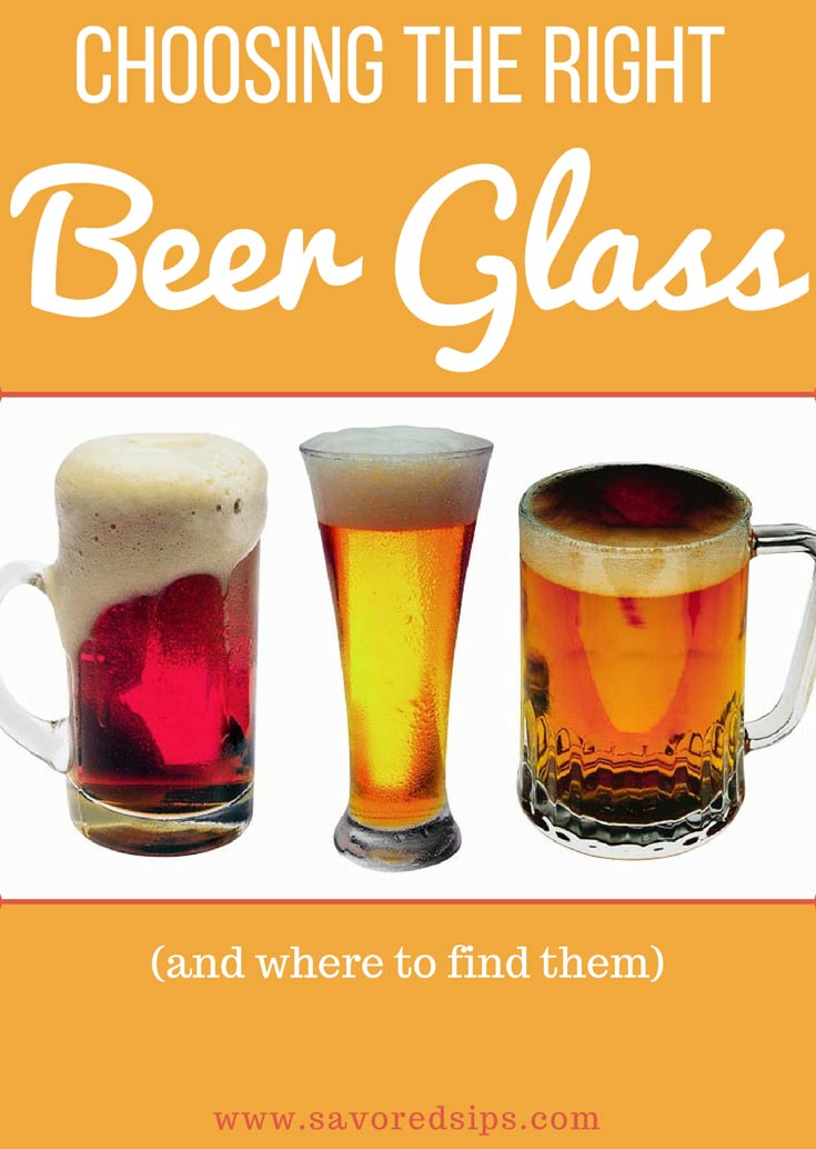 Choosing the Right Beer Glass Type (and where to find them) - Savored Sips