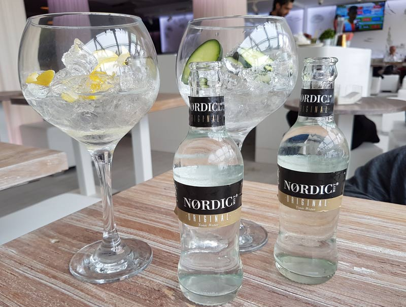 Gin tonics in Valencia, Spain