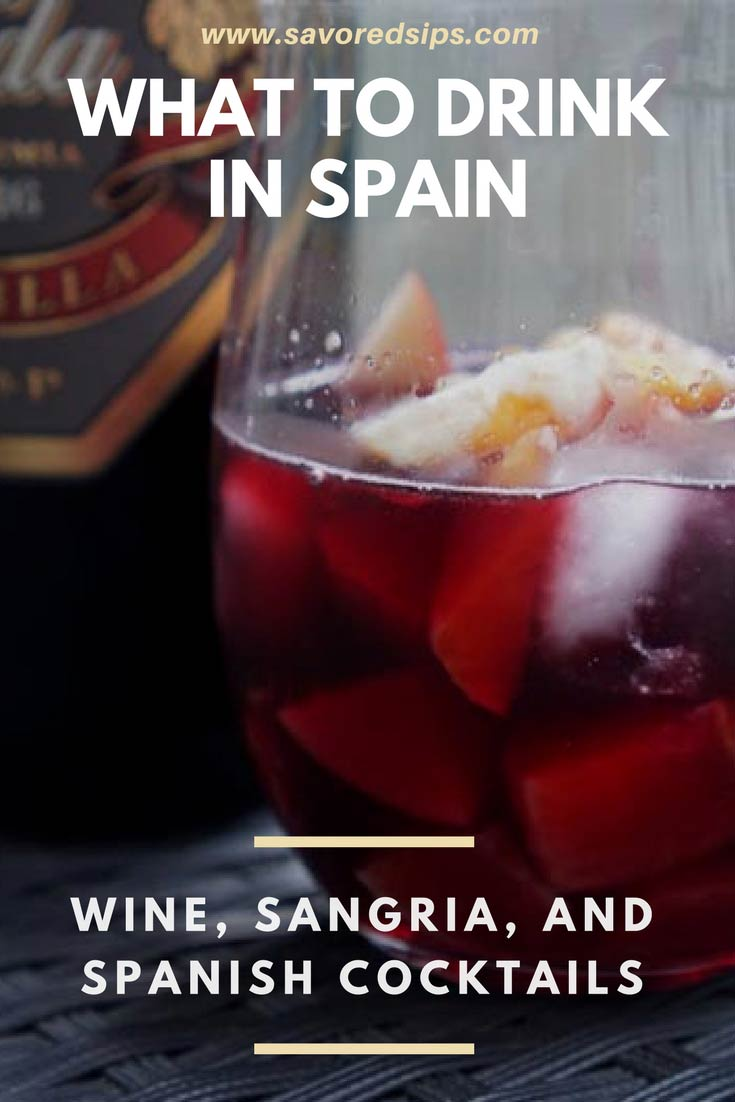 S;panish Drinks: Wine, Sangria and Spanish Cocktails to try in Spain