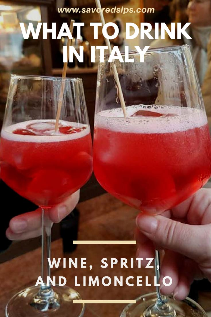 What to drink in Italy - from wine to limoncello - drink like a local