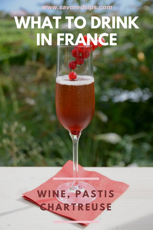 Here's a great list of the drinks you must try in France