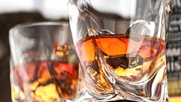 liquor and whisky