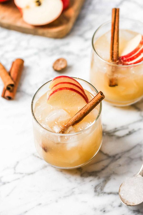 Apple Bourbon Smash