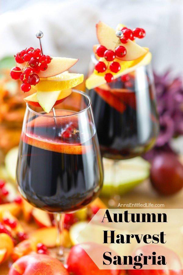 Autum Harvest Sangria