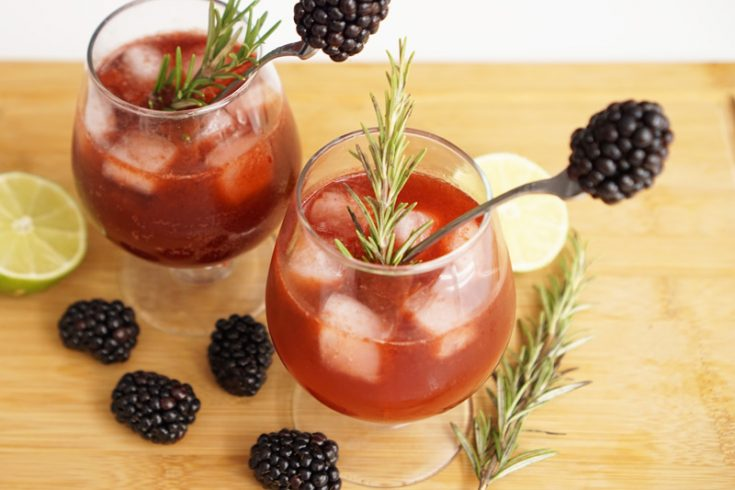 Blackberry Dark & Stormy