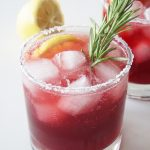 Pomegranate Mezcal Margarita