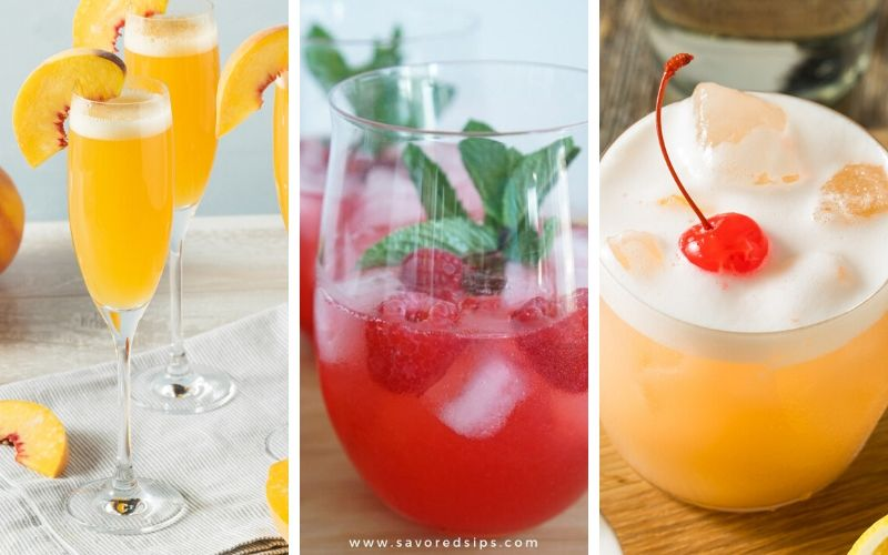 cocktails for happy hour at home