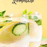 Cucumber Gin Lemonade