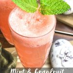 Mint Grapefruit Mimosa