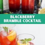 Blackberry Bramble Cocktail