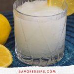Frozen Gin & Tonic Slush
