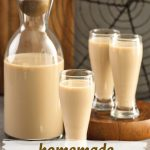 Homemade Irish Cream Liqueur