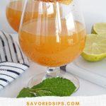 Spicy Mango Mezcal Margarita