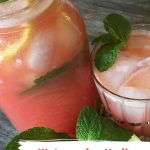 Watermelon Vodka Lemonade