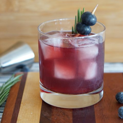 blueberry old fashioned