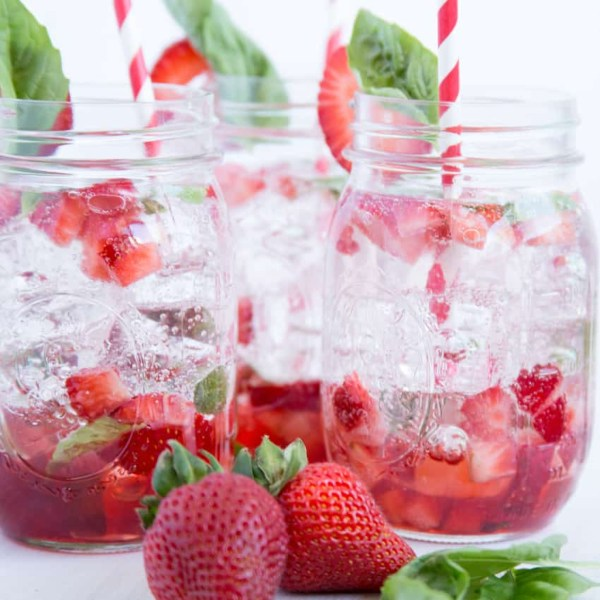 Strawberry Basil Cocktail