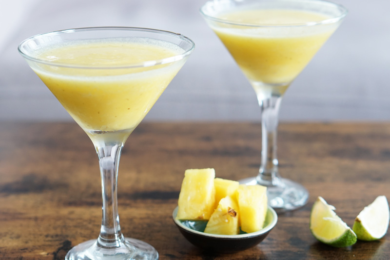 Blended Pineapple Daiquiri Recipe