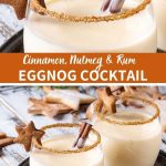 Holiday Eggnog Cocktail Recipe