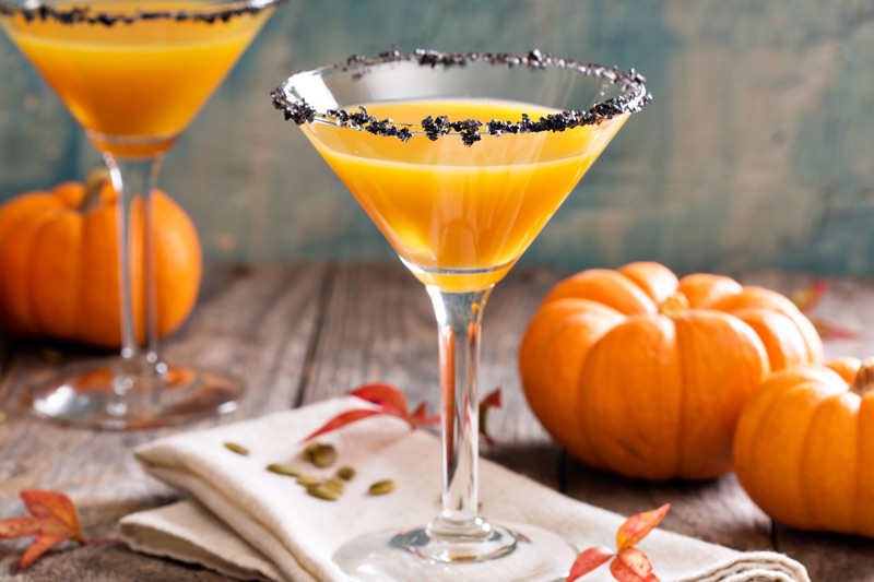 Pumpkin Spice Martini – Perfect for Fall