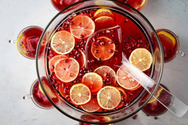 Pomegranate Cranberry Punch