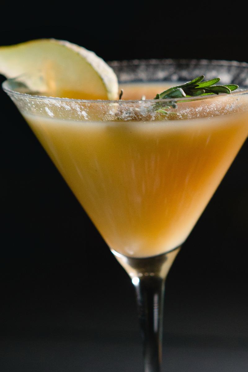 Pear Bourbon Martini